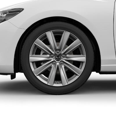 Set roti iarna R19 Bright Silver Michelin - Mazda 6 GL [1]