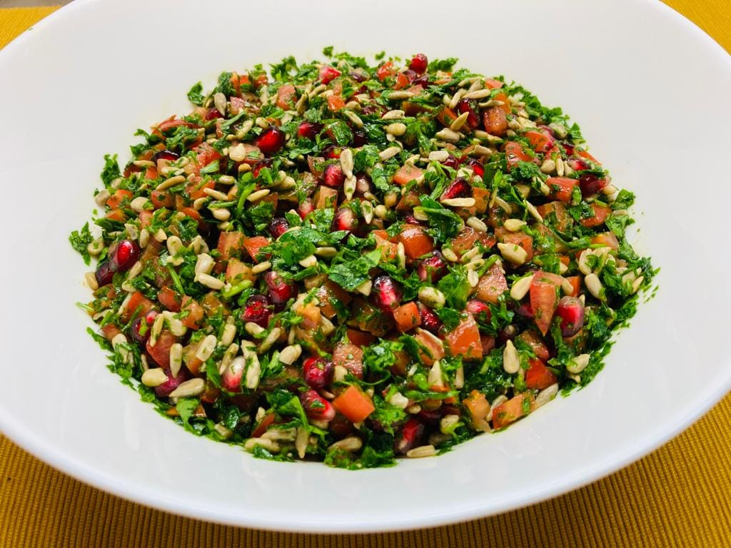 O altfel de salata tabouleh