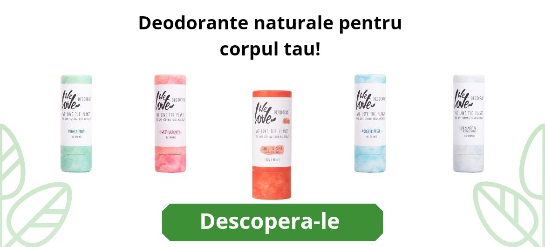 Deodorante naturale - fara aluminiu- pentru ca imi pasa de corpul meu