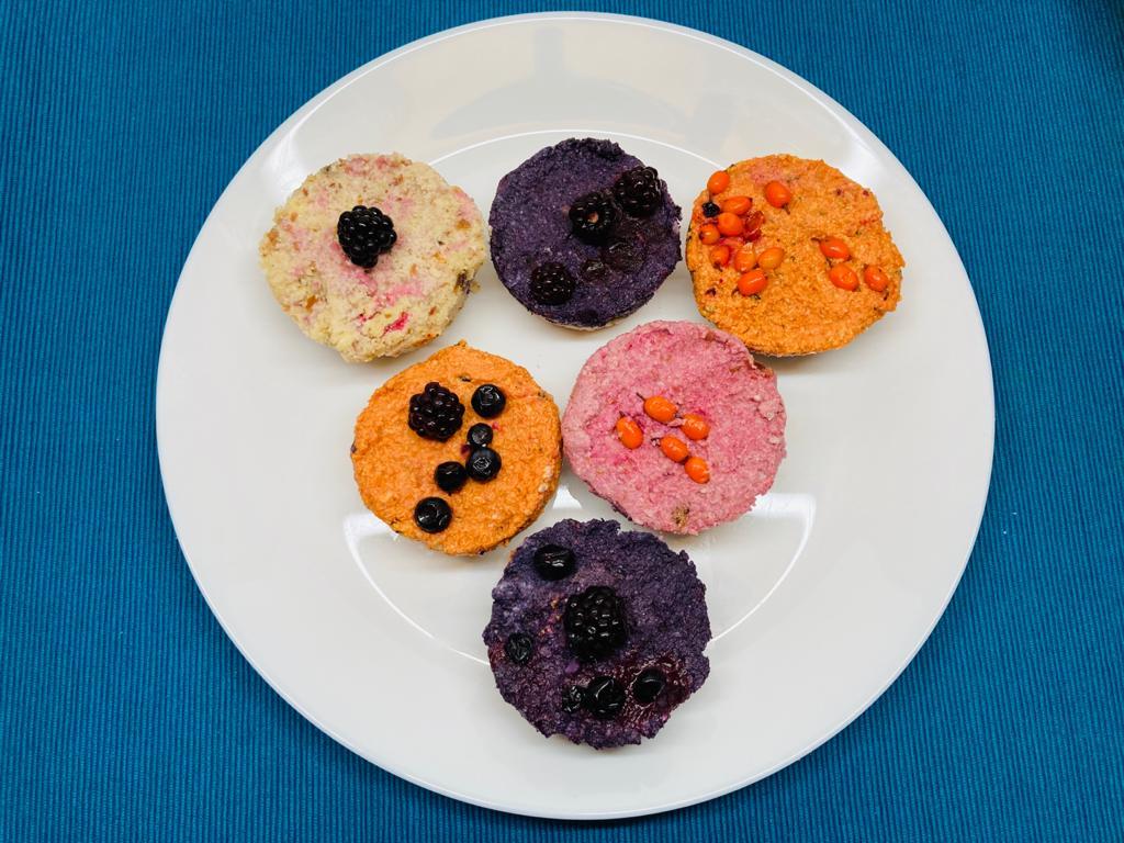 Cupcakes raw vegane