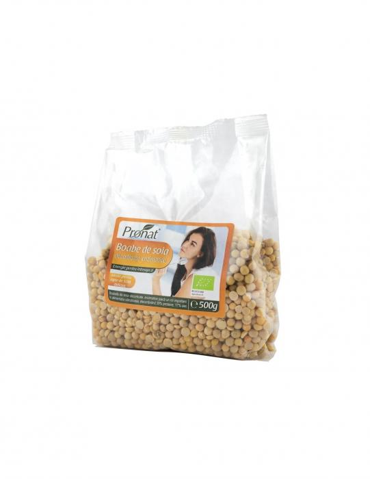 Boabe de soia enzimatice ECO 500 g [0]