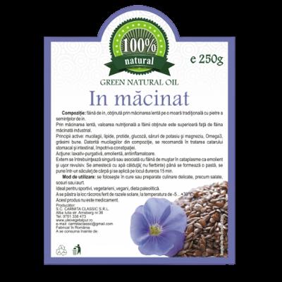 Faina din seminte de in 250 g [0]