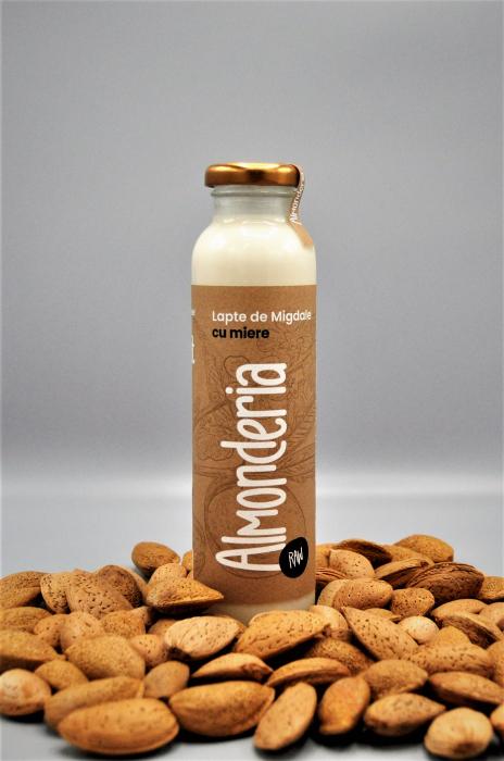 Lapte de migdale cu miere 330 ml 0