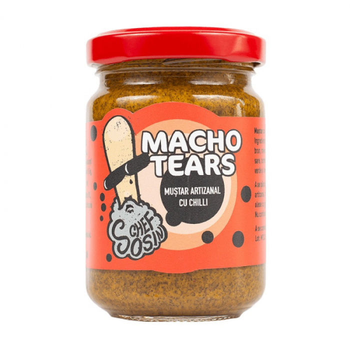 Mustar cu chili, iute si condimentat - Macho Tears 150 g [0]