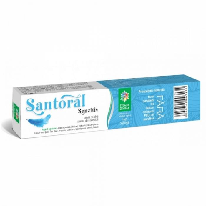 Pasta de dinti SENZITIV pentru dinti sensibili Santoral 75 ml [0]