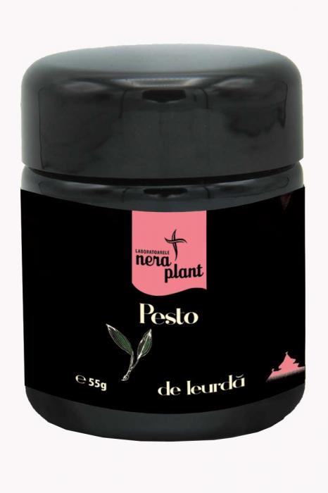 Pesto de leurda si nuca raw ECO 55 g [0]