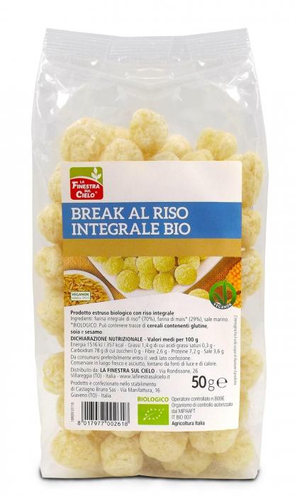 Pufuleti din orez integral ECO 50 g [0]