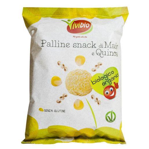 Pufuleti din porumb si quinoa fara gluten ECO 40 g [0]