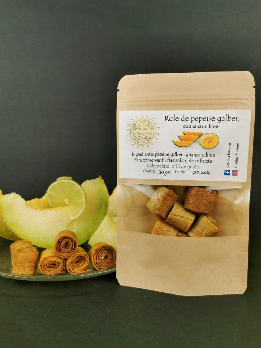 Role de pepene galben deshidratat 30 g [0]