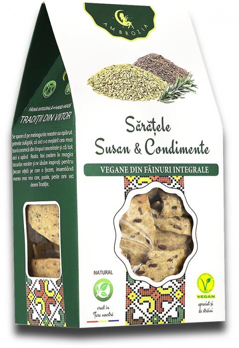 Saratele cu Susan & Condimente 125 g [0]