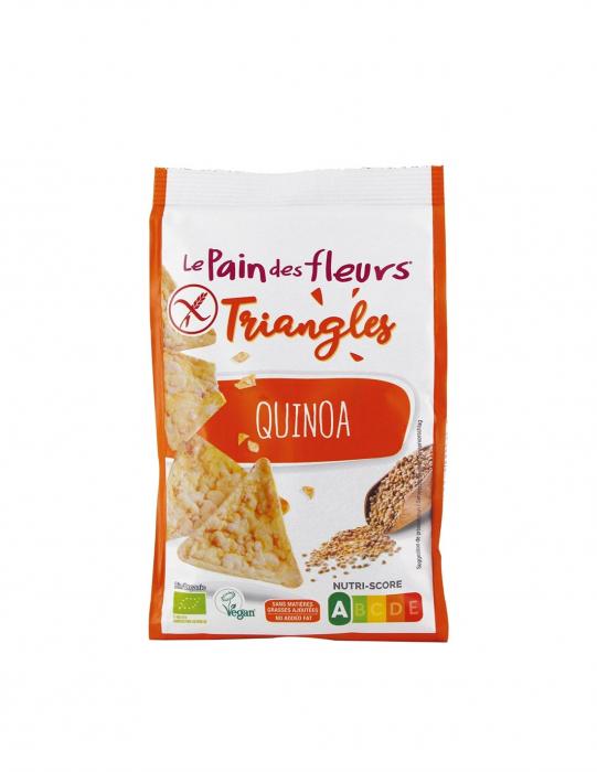Triunghiuri cu quinoa fara gluten ECO 50 g [0]