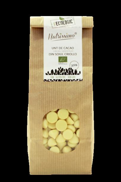 Unt de cacao Criollo raw ECO 200g 0