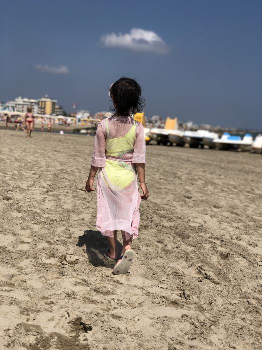 Capod plaja fetite 1