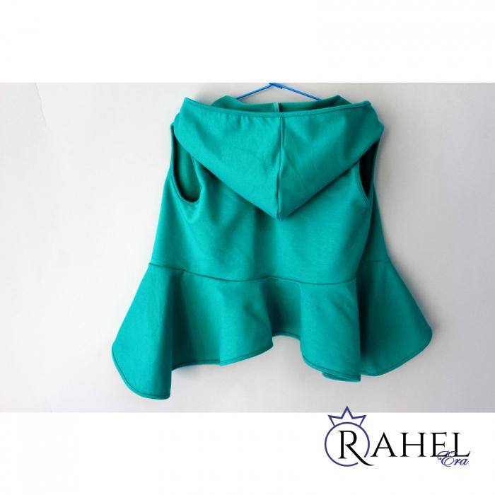 Costum Rahel verde aqua 5