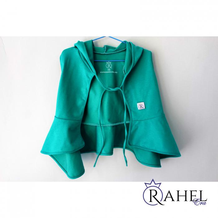 Costum Rahel verde aqua 4