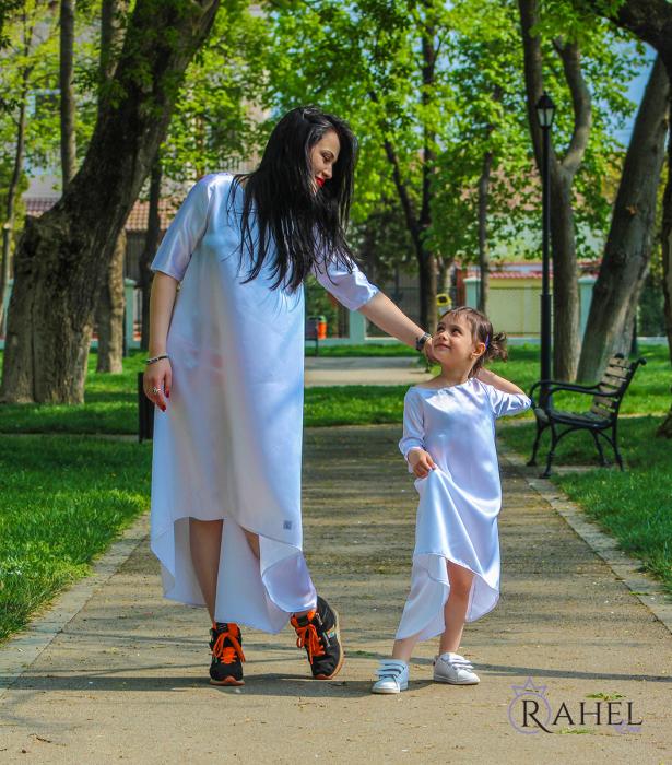 Rochie white ghost 2