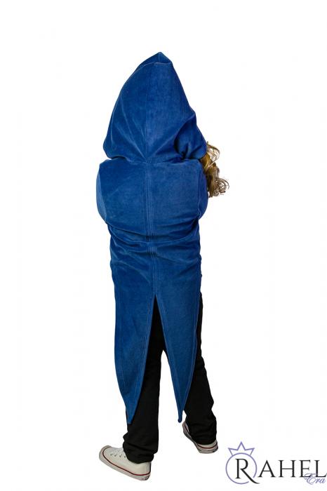 Sacou unisex Greieras albastru 2