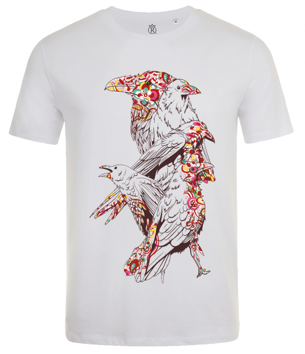 tricou imprimat digital  BIRDS 1