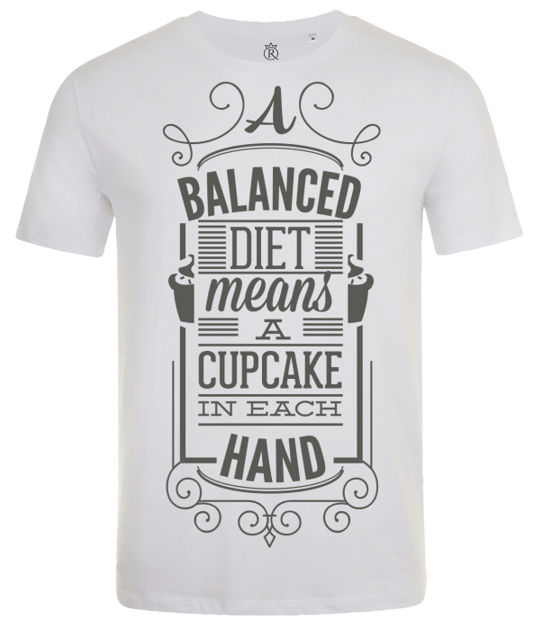tricou imprimat digital  Diet 0