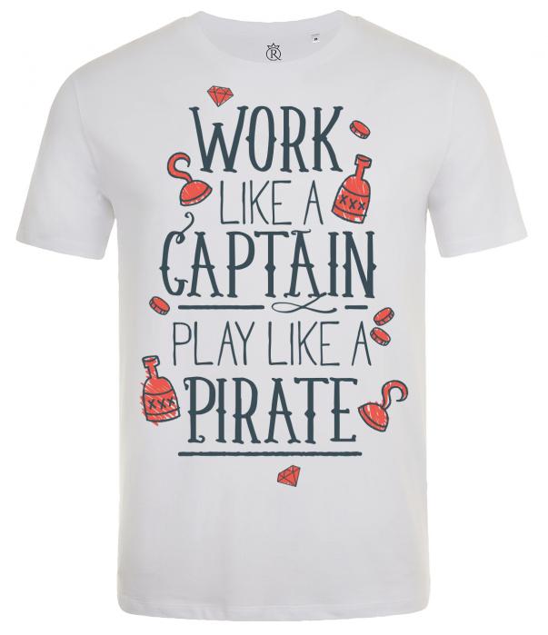 tricou imprimat digital  Pirate 0