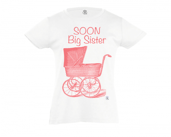 Tricou copii personalizabil Big Sister color 0