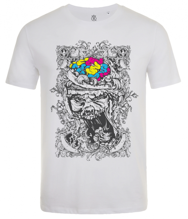 tricou imprimat digital Zombie 1