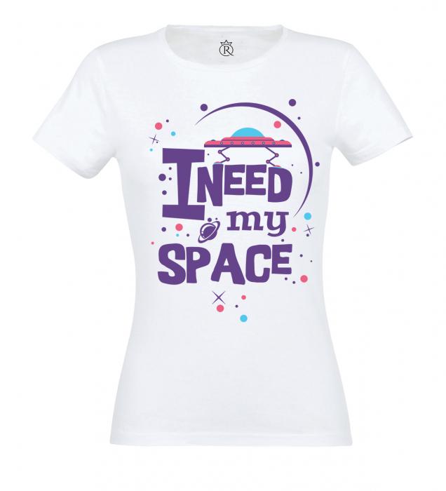 tricou imprimat digita Space 0