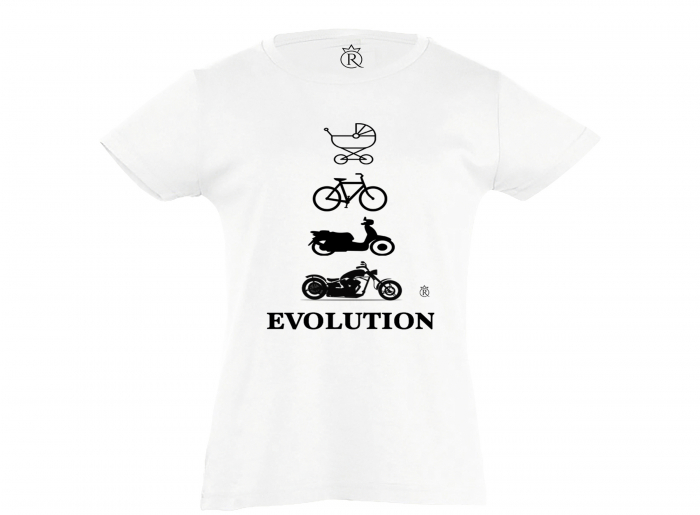 Tricou moto evolution kids 0