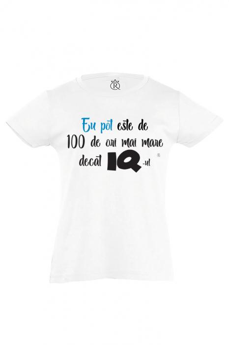 tricou personalizat copii-iq 0