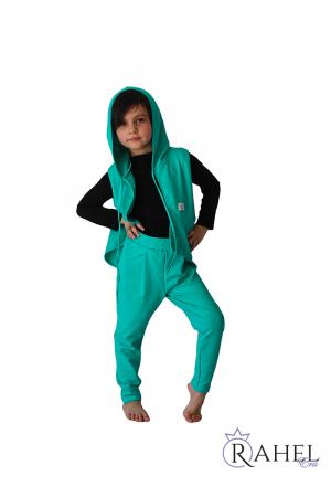 Costum Rahel verde aqua0