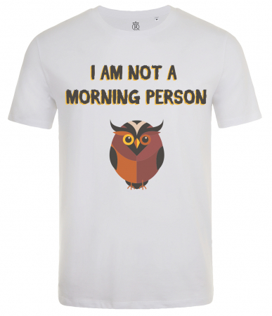 Tricou Imprimat not a morning person1