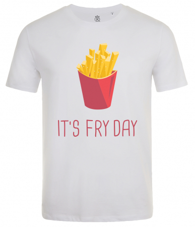 Tricou Imprimat Fry Day0