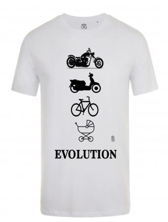 Tricou personalizabil moto evolution adulti0