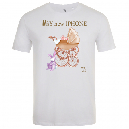 Tricou personalizabil my new iPhone0