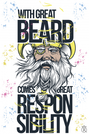 Tricou personalizat Great Beard1
