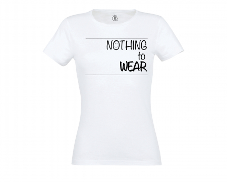 Tricou personalizate Nothing to wear0