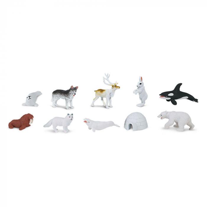 Set 12 Figurine Animale Lumea Arctica 0