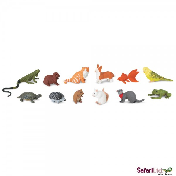 Set 12 figurine Animale De Companie Safari Ltd 0
