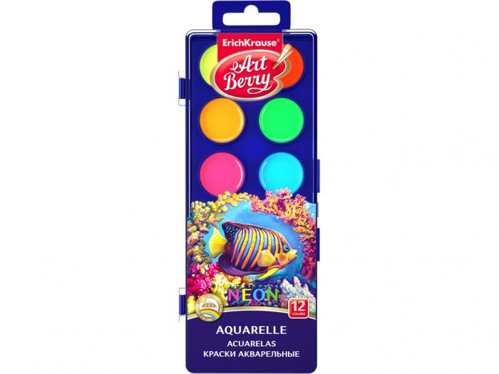 Acuarele Neon cu protecție UV, 12/set 0