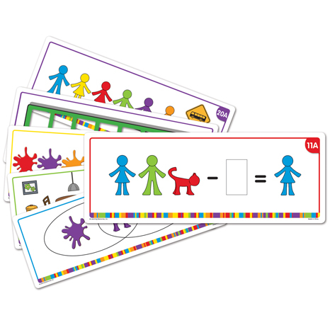 All About Me Family Counter™ Activity Cards 0
