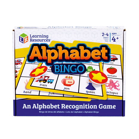 Joc Bingo Cu Doua Fete Alphabet Bingo 2