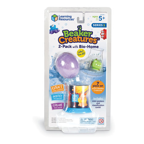 Beaker Creatures™ 2-Pack With Bio Home 1