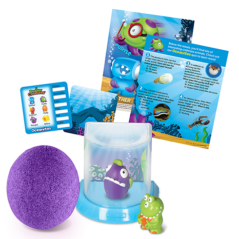Beaker Creatures™ 2-Pack With Bio Home 0