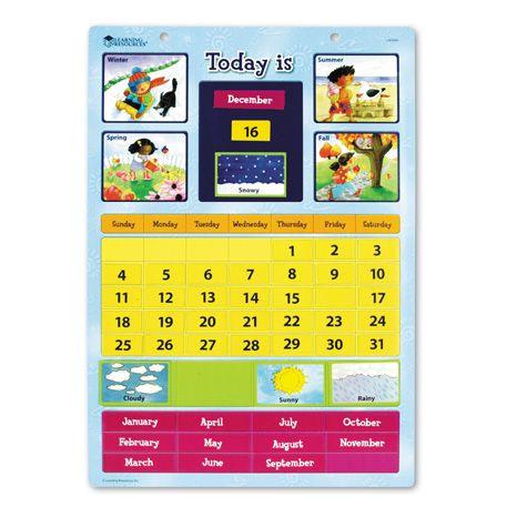 Calendar Magnetic Pentru Invatare Facila 1