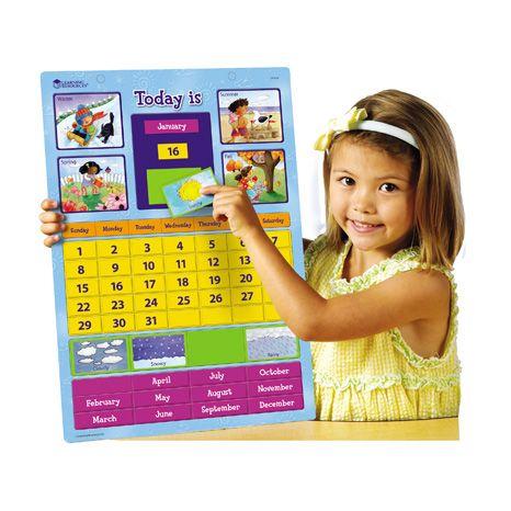 Calendar Magnetic Pentru Invatare Facila 0