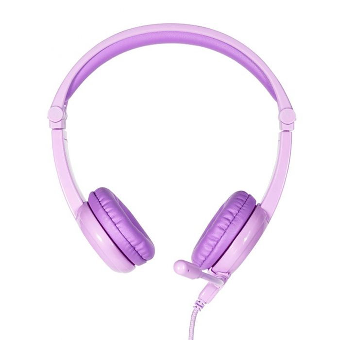 Casti Audio Pentru Copii BuddyPhones Galaxy, Cu Limitare Intensitate Sunet 3