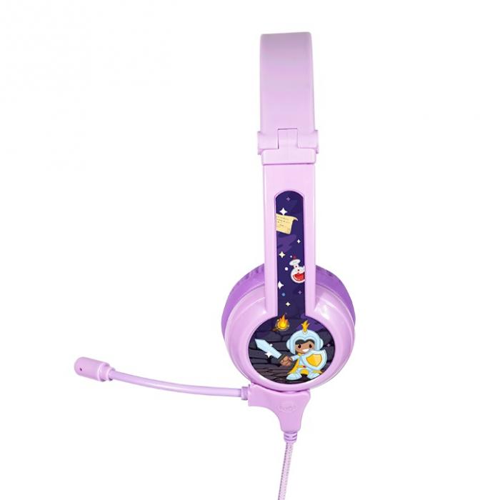 Casti Audio Pentru Copii BuddyPhones Galaxy, Cu Limitare Intensitate Sunet 2