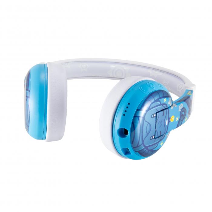 Casti Wireless Pentru Copii Cu Reglare Nivel Volum Si Autocolante Wave [3]