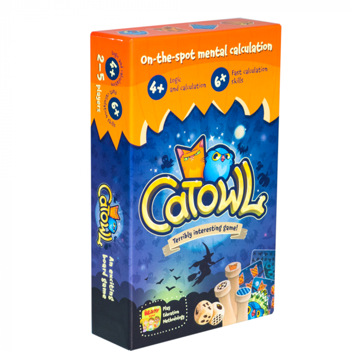 CATOWL - Joc educativ Invatam sa numaram si sa facem asocieri logice 0