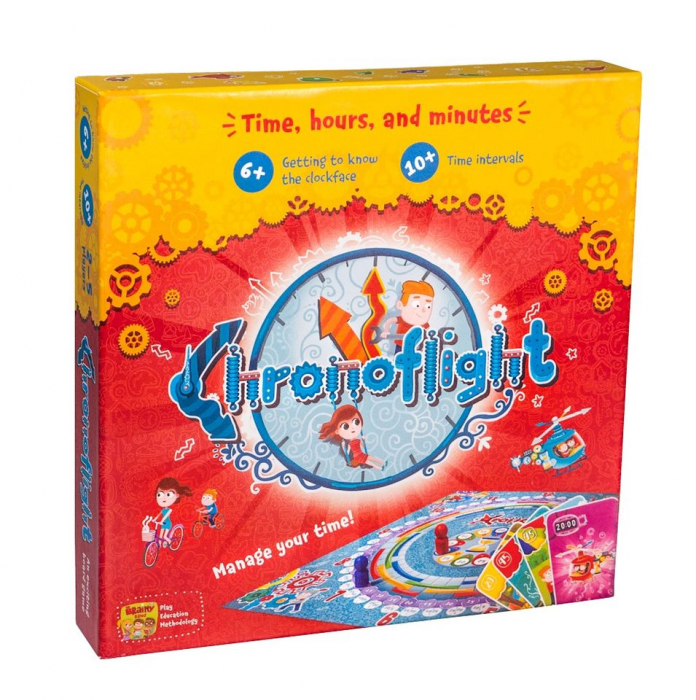CHRONOFLIGHT – Joc educativ Invatam ceasul 0